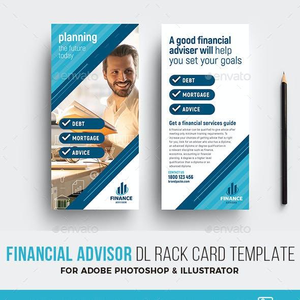 rack card template graphics designs templates