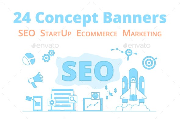 Ecommerce Marketing Banners Cover Photo Banners
