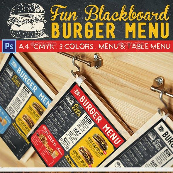 fun menu and menu package graphics designs templates