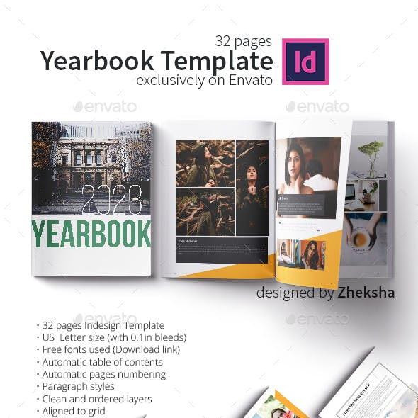 Yearbook Template