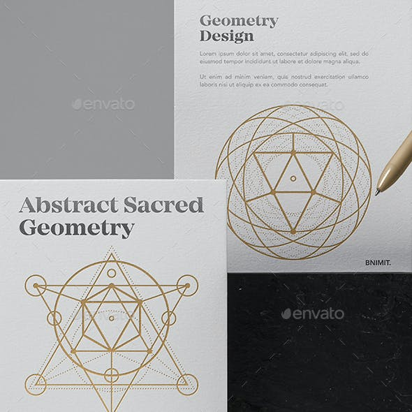 Sacred Geometry Graphics Designs Templates From GraphicRiver