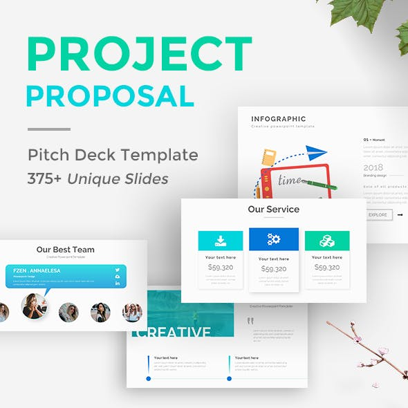 Project Proposal Presentation Templates From Graphicriver