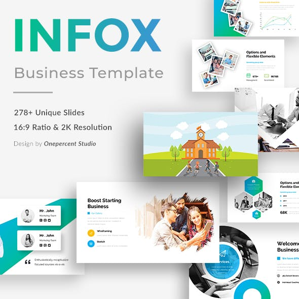 infox simple presentation templates from graphicriver