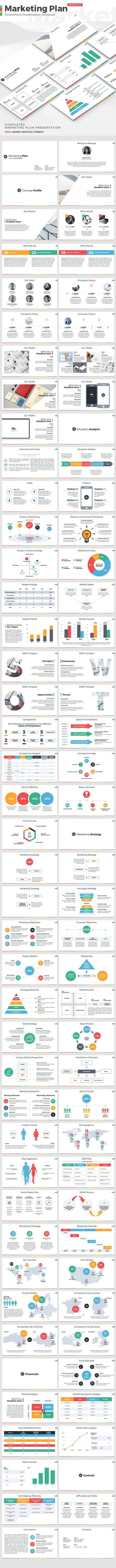 marketing plan powerpoint presentation template by jetz graphicriver