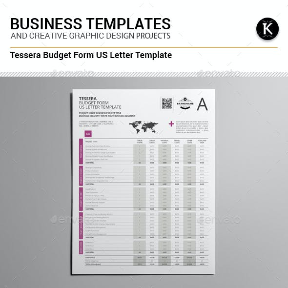 form and project budget graphics designs templates