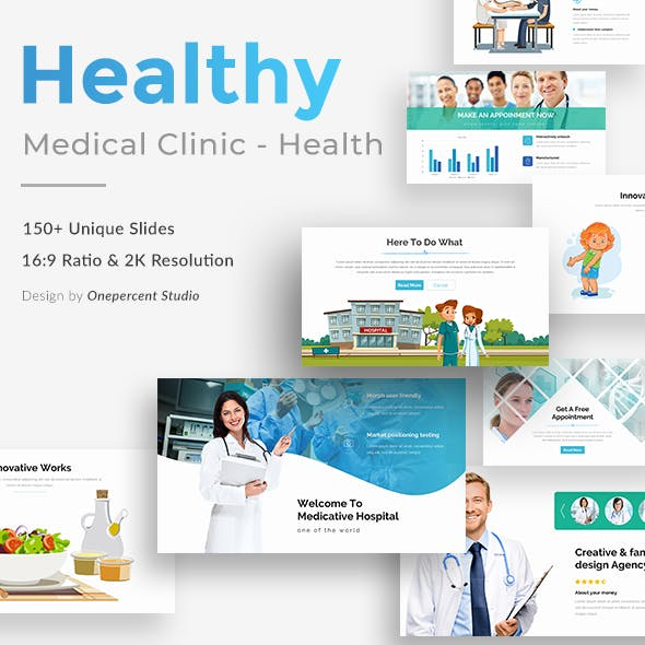Medical Powerpoint Templates From Graphicriver