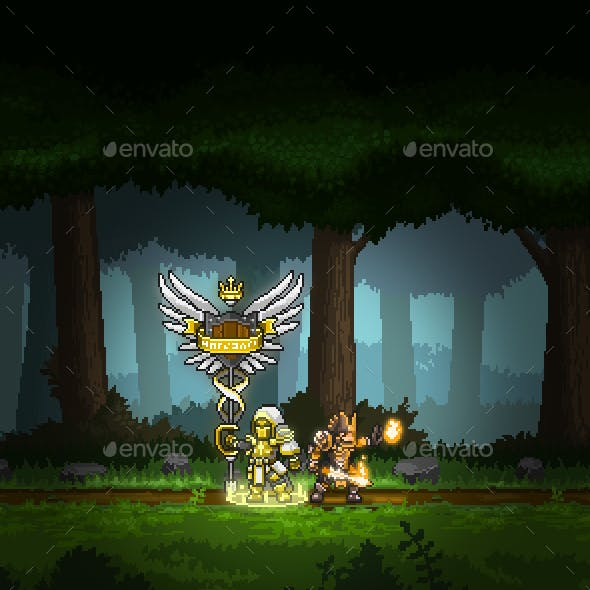pixel art character graphics designs templates