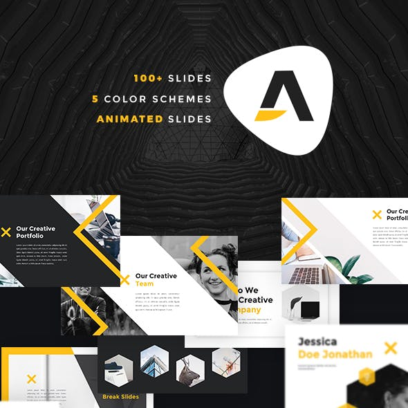 Pitch Deck Powerpoint Templates From Graphicriver