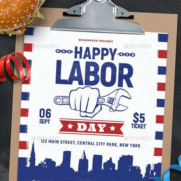 Labor Day Graphics, Designs & Templates From GraphicRiver