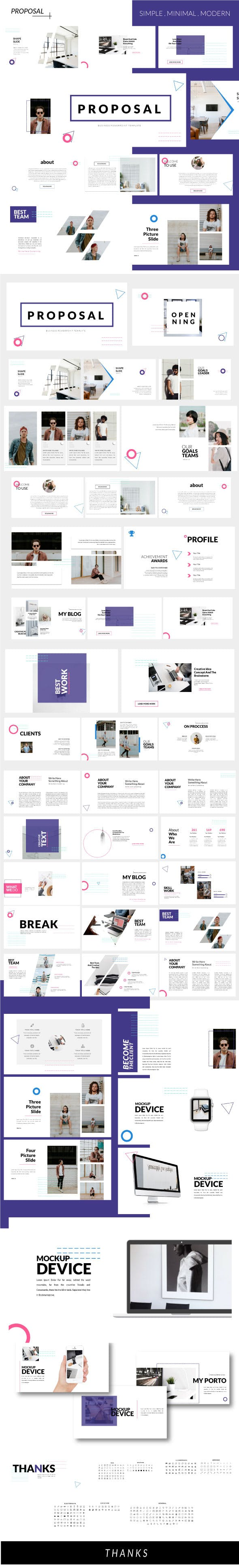 Proposal Business Keynote Template By Rocketemplate Graphicriver