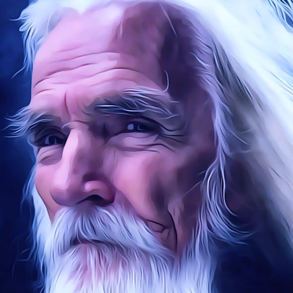 Portrait Oil Painting Action