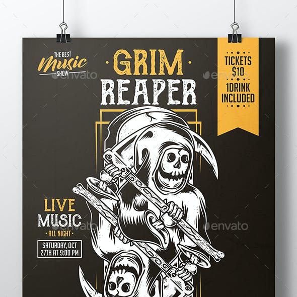 grim reaper graphics designs templates from graphicriver