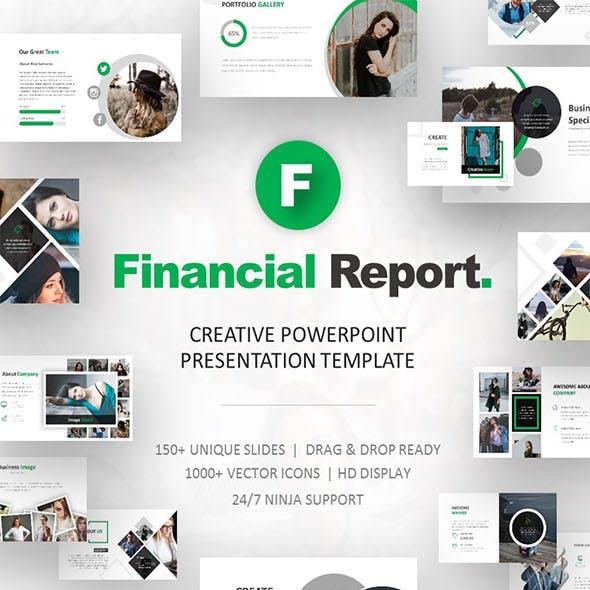Finance Powerpoint Templates From Graphicriver