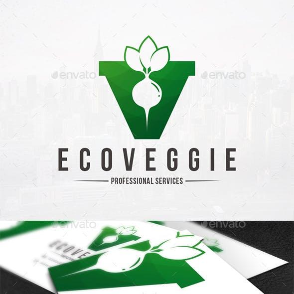 Letter logos from graphicriver v letter vegetables logo altavistaventures Gallery