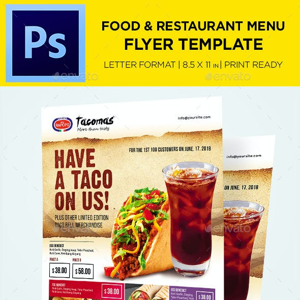 menu templates from graphicriver page 6