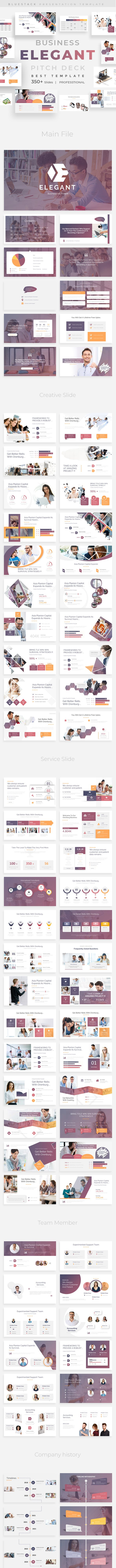 elegant business pitch deck keynote template by bluestack graphicriver