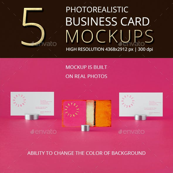 Business card mockups from graphicriver photorealistic business card mockup vol 40 colourmoves