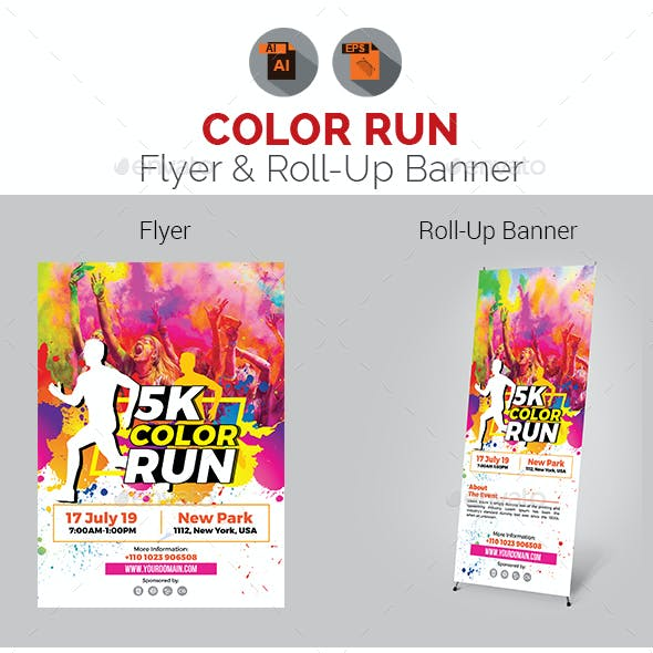 roll up flyer templates from graphicriver