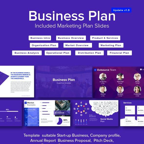 business plan powerpoint template marketing plan template