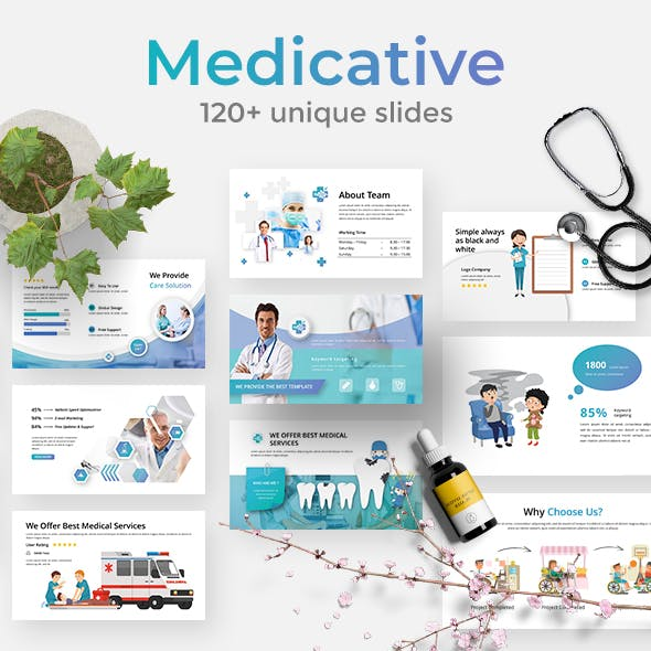 Medical Modern Powerpoint Templates From Graphicriver