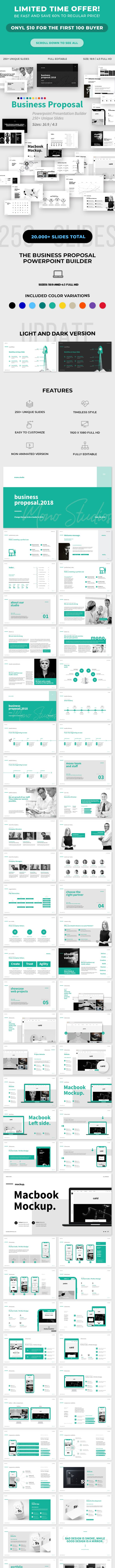 Business Proposal Powerpoint Template By Egotype Graphicriver