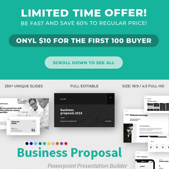 Proposal template powerpoint graphics designs templates business proposal powerpoint template flashek Image collections