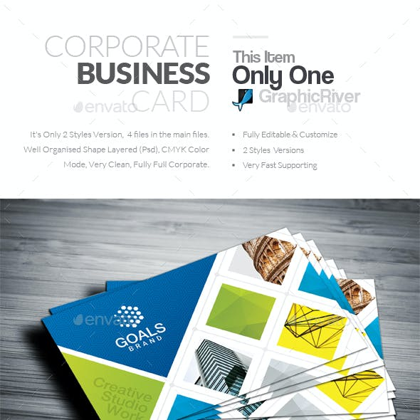 Corporate business card templates designs from graphicriver business card flashek Gallery