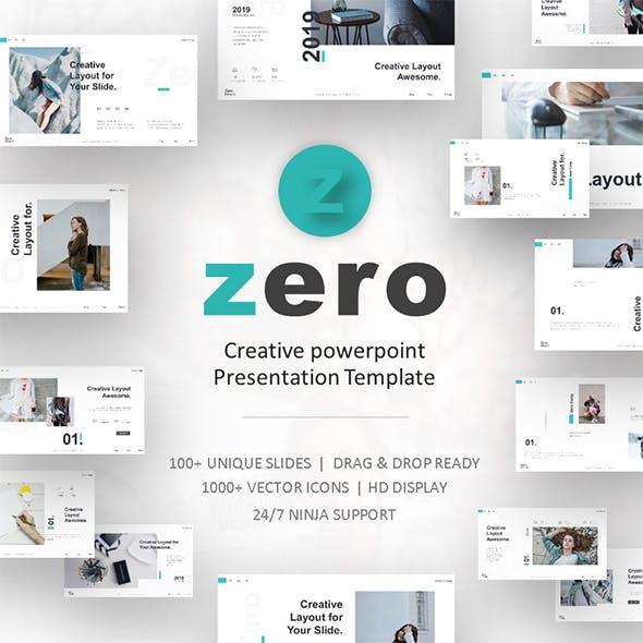 Powerpoint templates from graphicriver zero clean style powerpoint toneelgroepblik Gallery