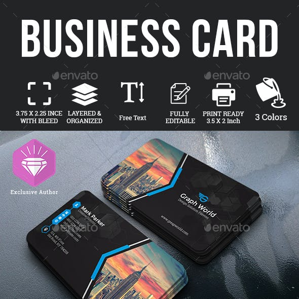 Business card templates designs from graphicriver business card flashek Gallery