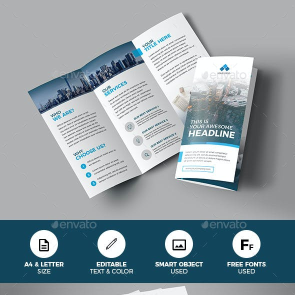 Brochure templates from graphicriver trifold corporate business brochure wajeb Images