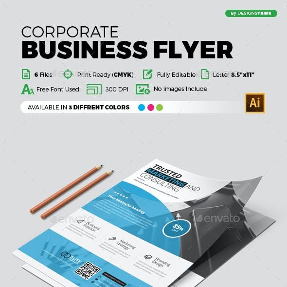Business flyer templates from graphicriver flyer multipurpose 373 accmission Gallery