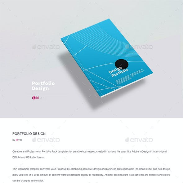 portfolio brochure templates from graphicriver