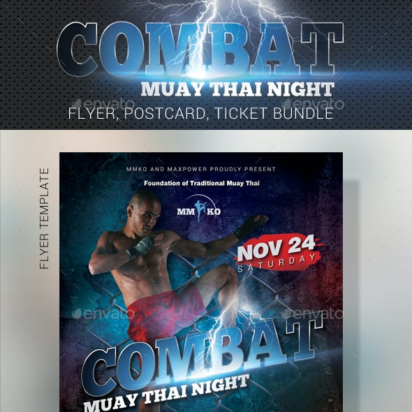 Ufc Flyer Graphics Designs Templates From Graphicriver