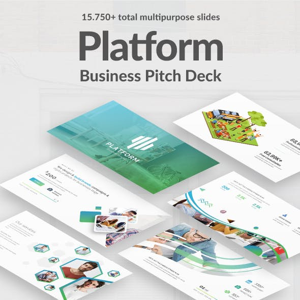 Powerpoint templates from graphicriver business platform pitch deck powerpoint template cheaphphosting Choice Image