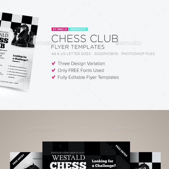 Sporting Event Flyer Templates from GraphicRiver
