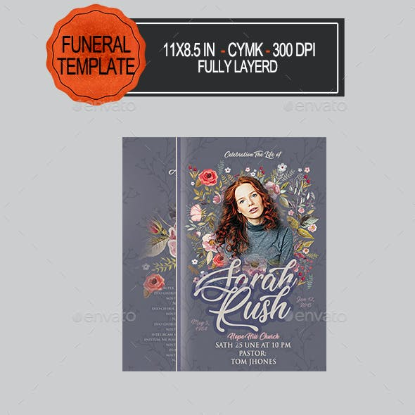 obituary graphics designs templates from graphicriver