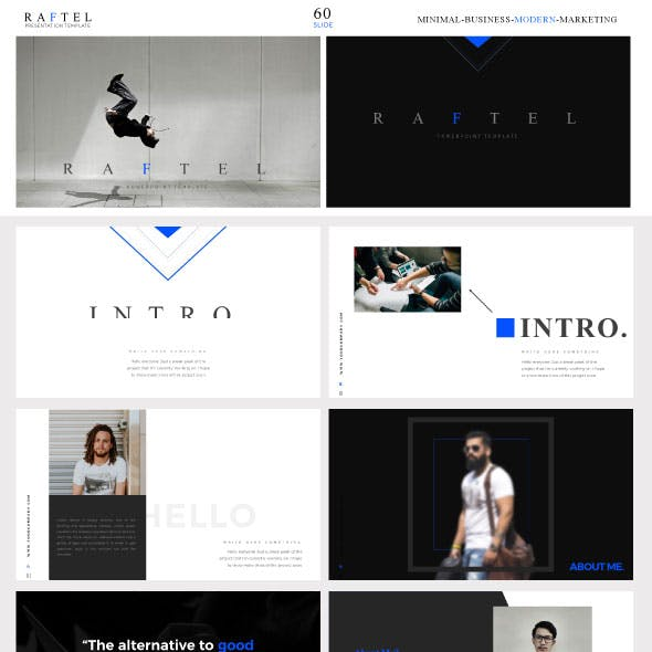 Presentation powerpoint templates from graphicriver raftel business presentation template cheaphphosting Image collections