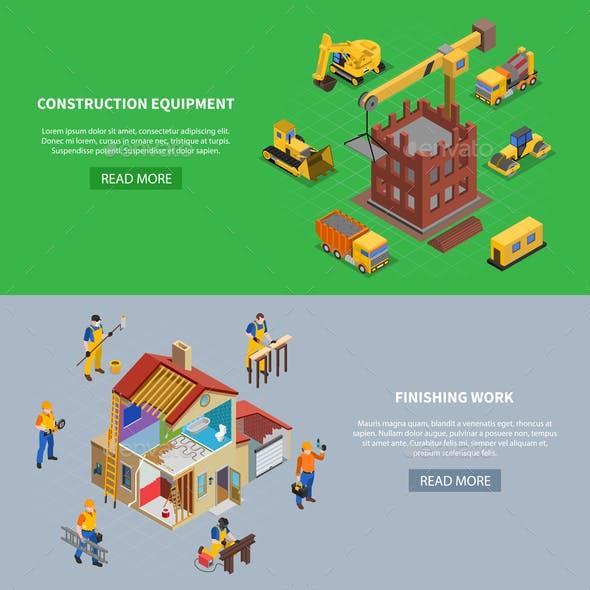 Construction Equipment Banners Cricket Tournament Banners