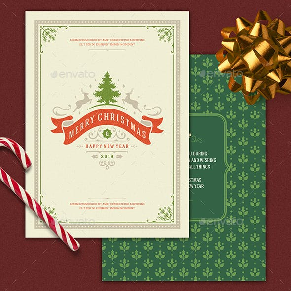 Greeting card designs templates from graphicriver christmas greeting card m4hsunfo