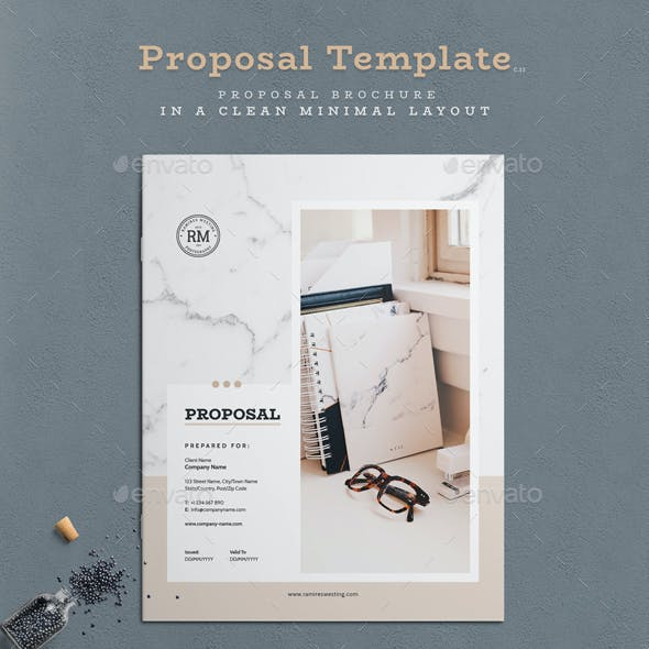 Business proposal invoice templates from graphicriver files types included wajeb Choice Image