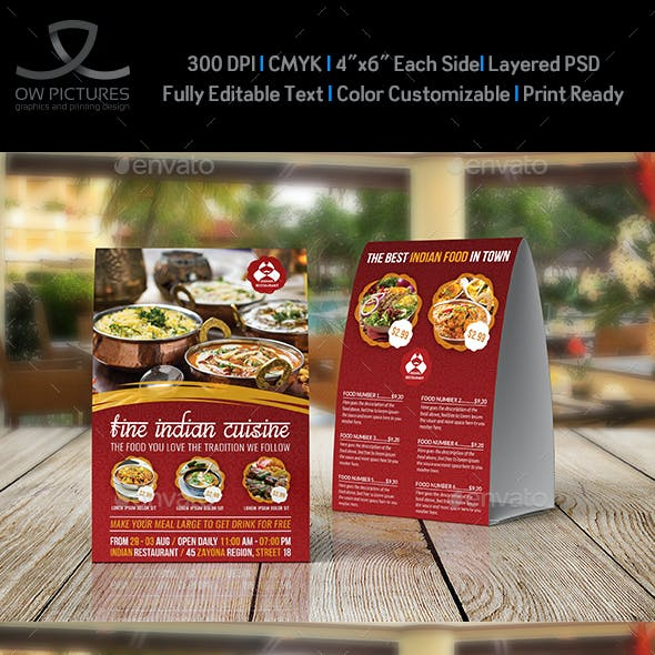 Menu Templates from GraphicRiver