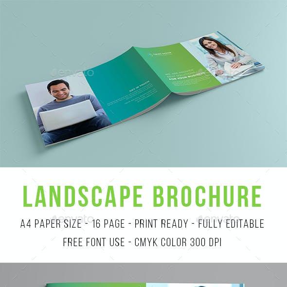 landscape brochure templates - Brochure Templates