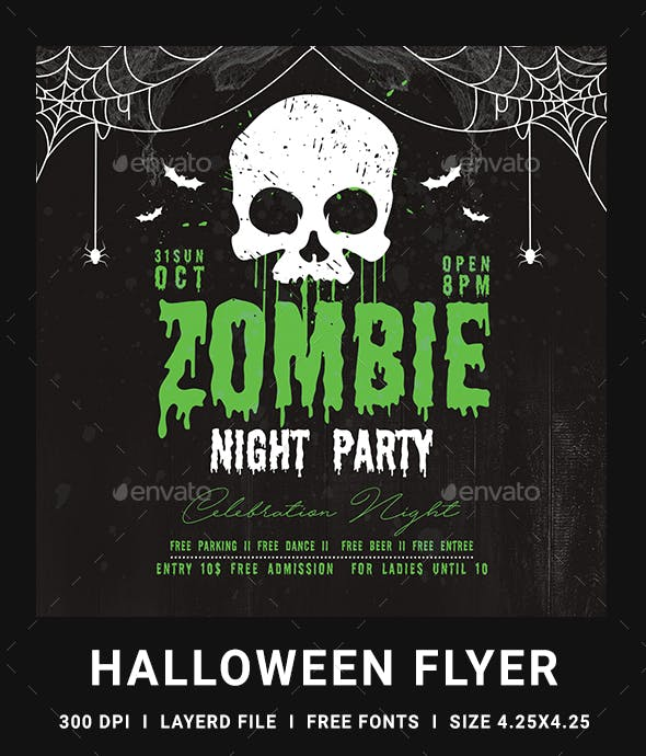 halloween flyer by dhingra graphicriver