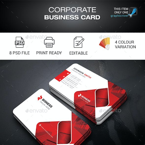 Corporate business card templates designs from graphicriver business card accmission Images