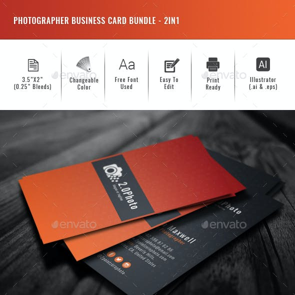 Creative business card templates designs from graphicriver fbccfo Image collections