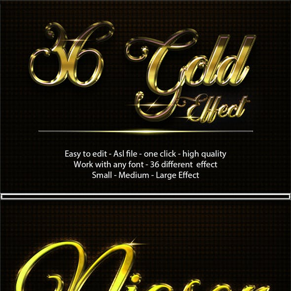 Font and Metal Graphics, Designs & Templates from GraphicRiver