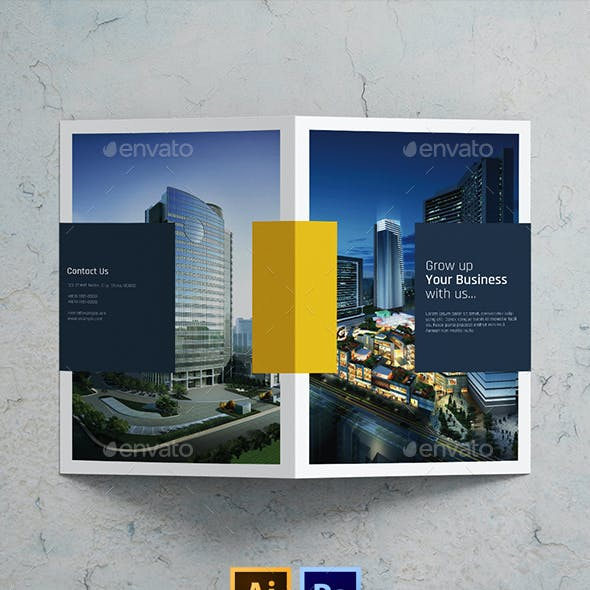 Corporate brochure templates from graphicriver business brochure template cheaphphosting Choice Image