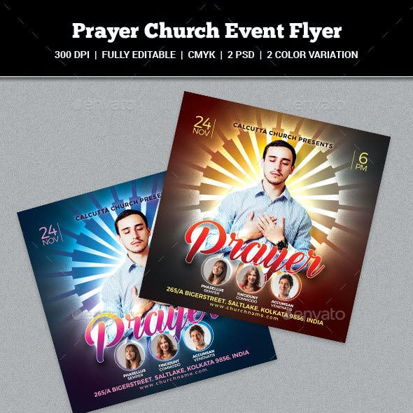 Church and Prayer Graphics, Designs & Templates