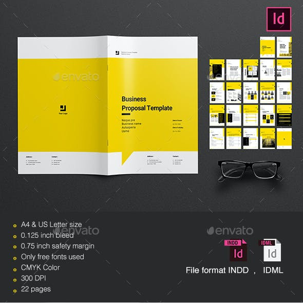 Business proposal invoice templates from graphicriver proposal template wajeb Choice Image