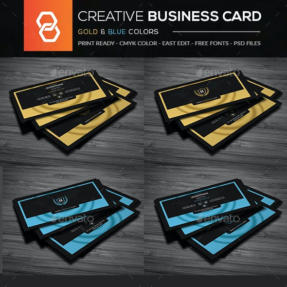 Business card templates designs from graphicriver creative business card templates cheaphphosting Choice Image